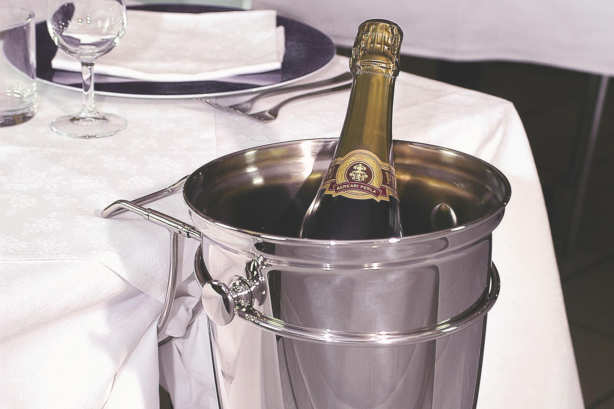 ILSA Champagne bucket & holder